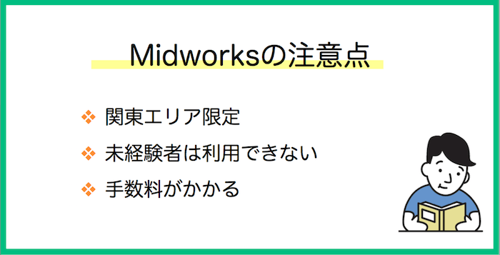 Midworks デメリット